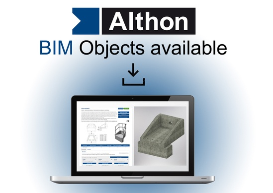BIM objects for headwalls are now available from Althon