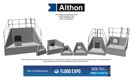 Althon will be at stand C64 at the Flood Expo 2019