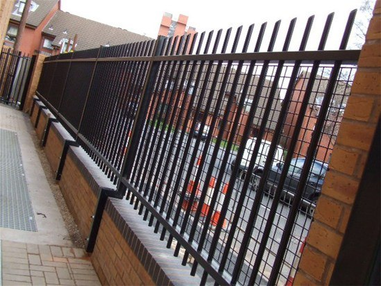 Barbican Imperial 174 Round Pale Vertical Bar Fencing