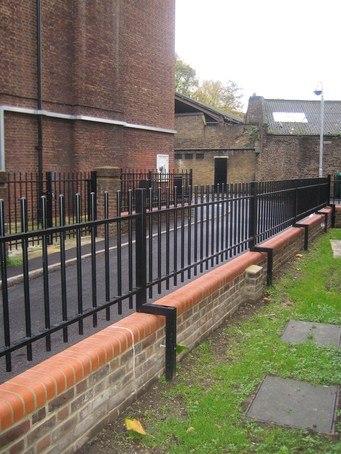 Barbican Imperial 174 Residential Railings Jacksons Fencing