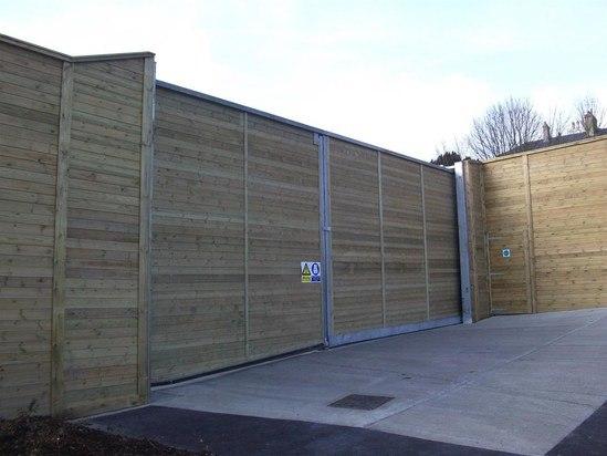 Jakoustic® sliding and pedestrian gates