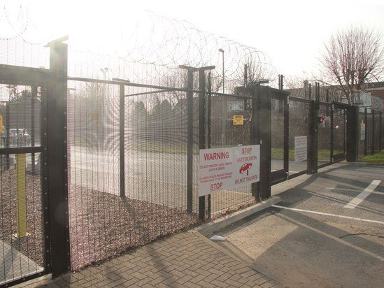 Upgrading perimeter security for a water treatment plant