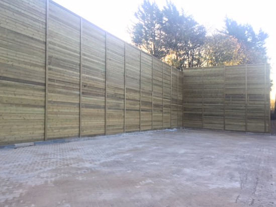 Jakoustic Commercial and Highway fencing
