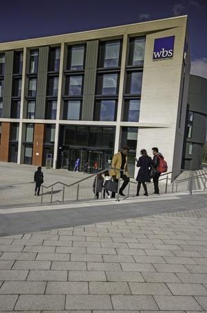 Block paving and steps at Warwick University