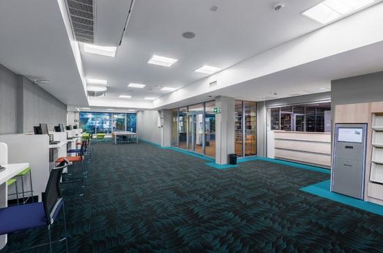 Odyssey fibre bonded carpet