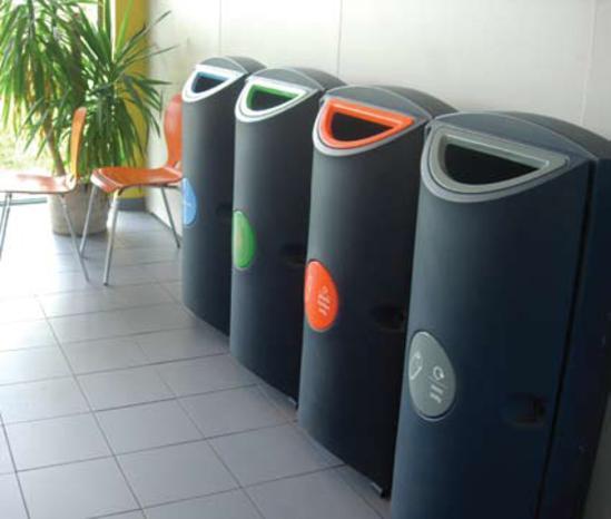 Slim Bin indoor recycling bin (SLM-0P)   Amberol   ESI