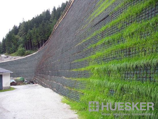 Fortrac 174 Natur S Geosynthetic Reinforced Soil System