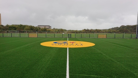 Artificial grass for community sports facility