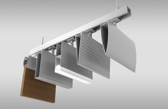 New ceiling solution to be launched by hunter douglas for Uk ceiling design