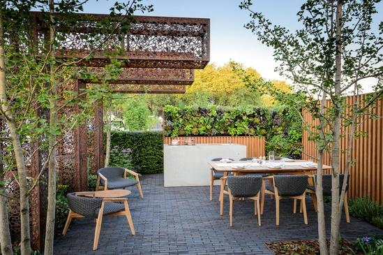 VersiWall Urban Flow Garden RHS 2018