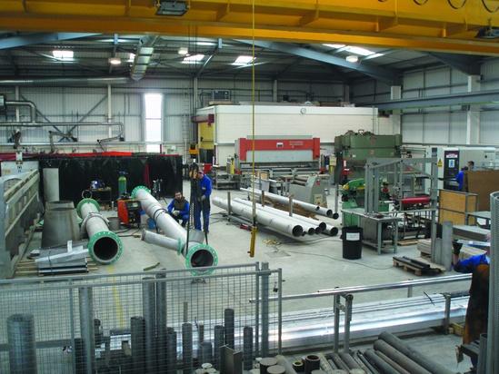 Pipework manufacturing