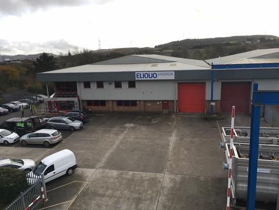 ELIQUO HYDROK head office & manufacturing