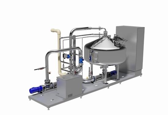 EloVav®-P skid-mounted vacuum degassing system