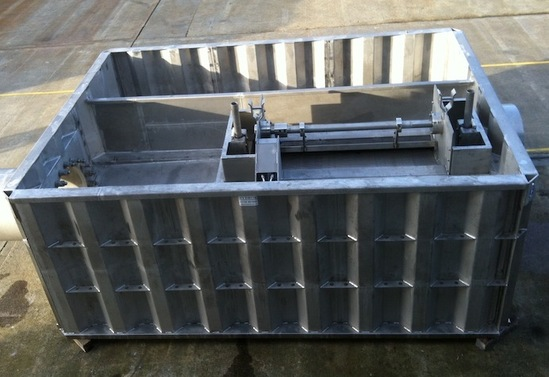 Stainless Steel CSO chambers off-site manufacture