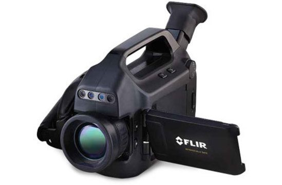 FLIR GFx320 infrared camera
