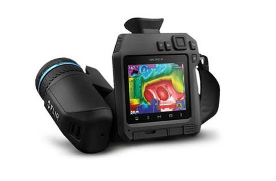 FLIR GF77 infrared optical gas imaging camera