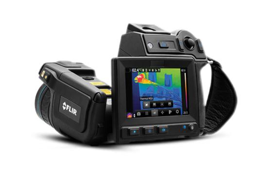 FLIR T600-Series thermal imaging camera