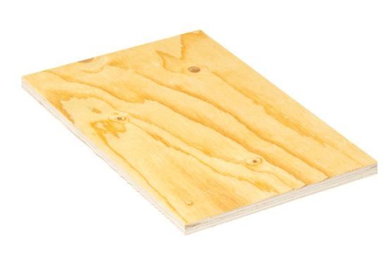 Spruce FireResist plywood panel