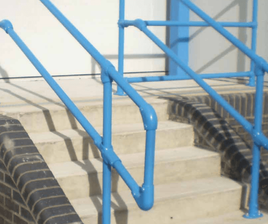 Kee Klamp slope fittings for gradients