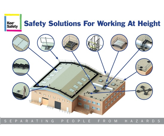 Safety solutions for working at height from Kee Safety