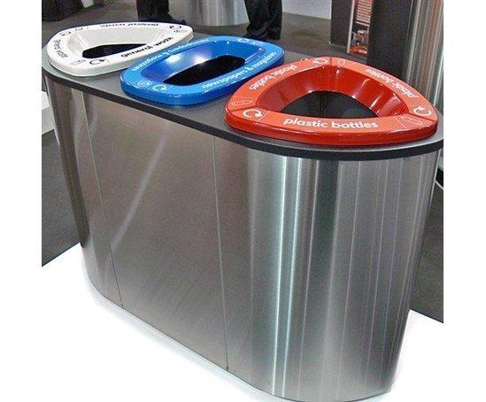 Finbin Bermuda Internal Modern Recycling Bin Leafield