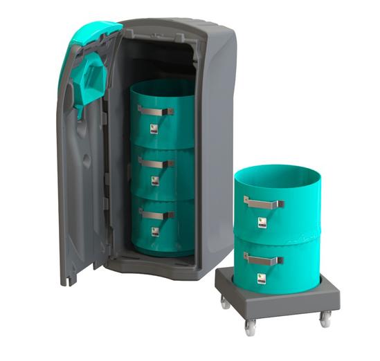 Envirobin Maxi glass recycling binGlass Recycling Bin