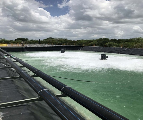 AER-AS floating aerators and MIX-AS floating mixers