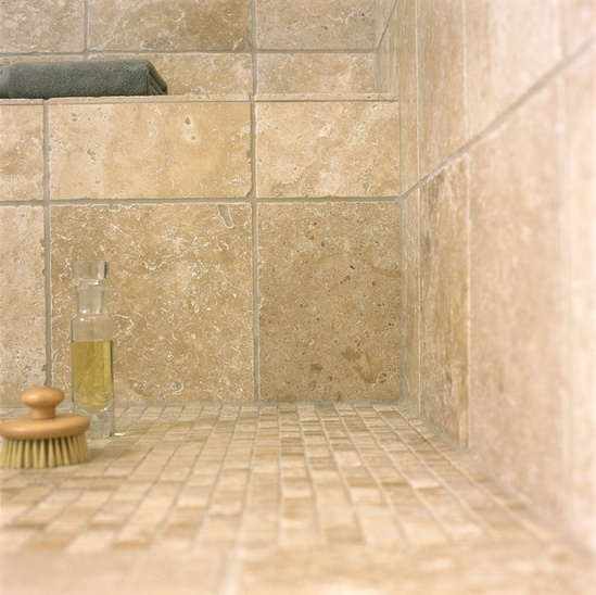 Corinth Tumbled Travertine Tiles