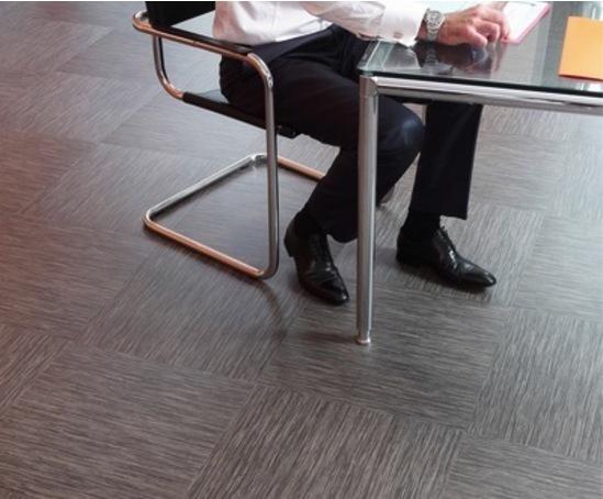 Square Acoustic Vinyl Loose Lay Floor Tiles Tarkett