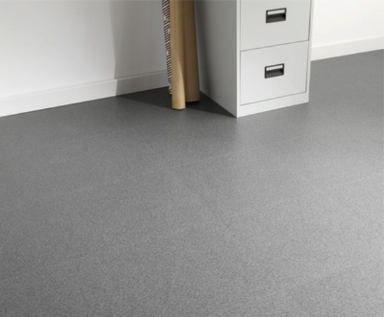 Square acoustic vinyl loose lay floor tiles tarkett for Vinyl square floor tiles