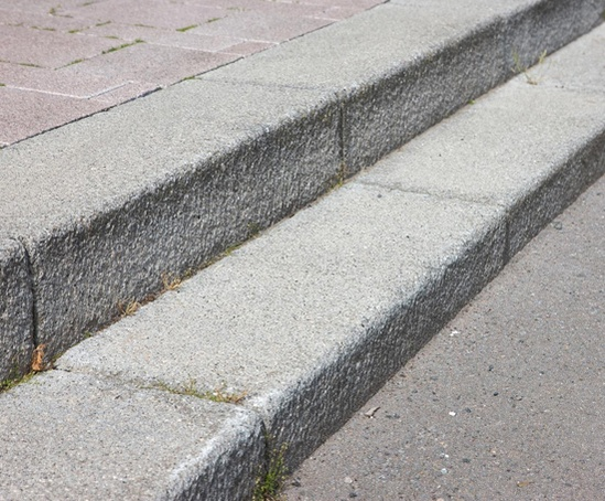Exterior: Conservation Textured Concrete Kerbs And Edgings
