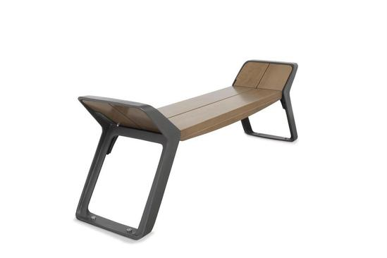 Stratic bench - Copper and Carbon finishes