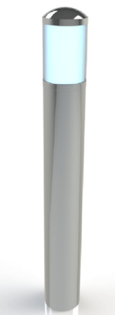 ASF SSL2 stainless Steel Illuminated Bollard