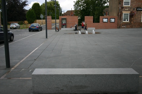 Bronze Street Furniture Crowle Market Square Architectural Street Furnishings Esi External