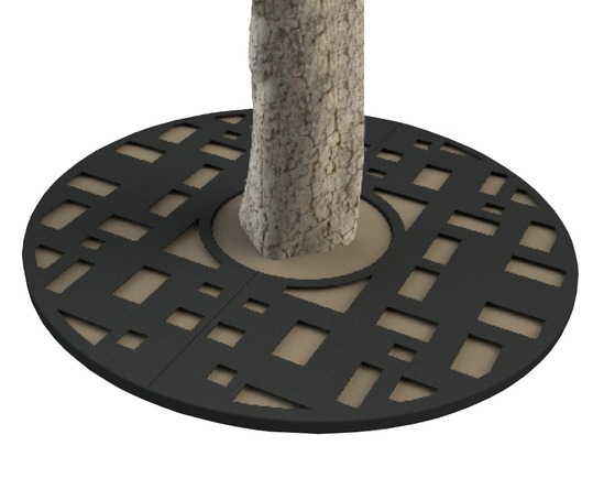 ASF Cuber Round Mild Steel Tree Grille
