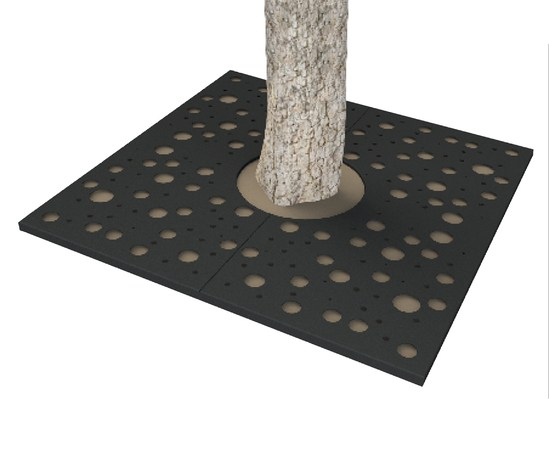 ASF Planet Square Mild Steel Tree Grille