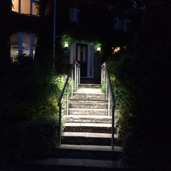 ASF LED Handrail with spotlights