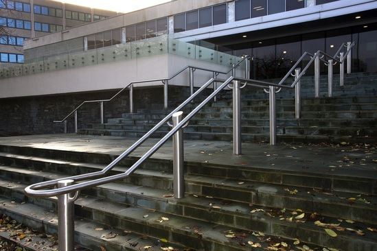 ASF 5006 double and single sided handrailing