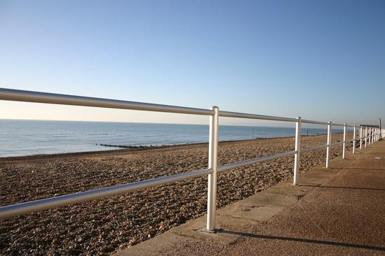 ASF hard anodised aluminium railings