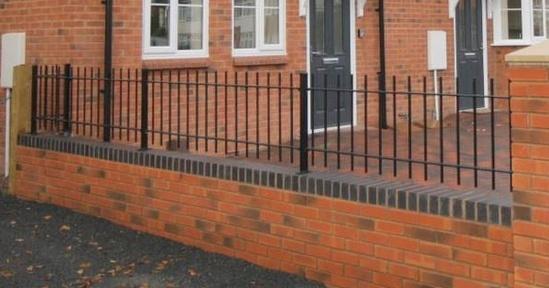 ASF Manor steel railings