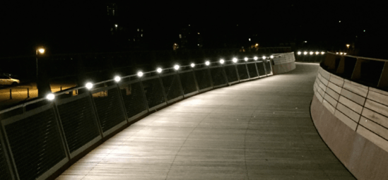 Illuminated Balustrade, Nene Bridge