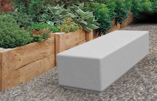 Lincoln Bench Cast In Concrete Neptune Street Furniture Esi External Works