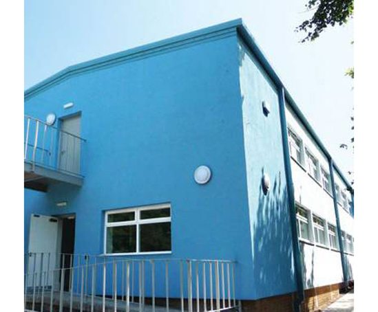Knauf Insulation's PPD lab with ThermoShell@ EWI system