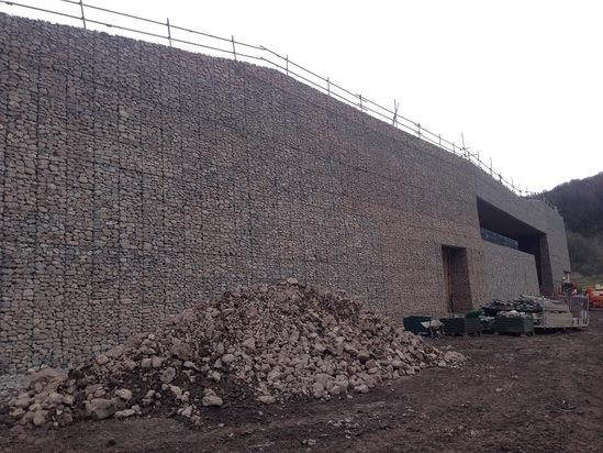 Gabion Retaining Wall Woven Wire Phi Group Esi