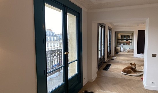 Spacetherm WL insulation installed in apartment - Paris