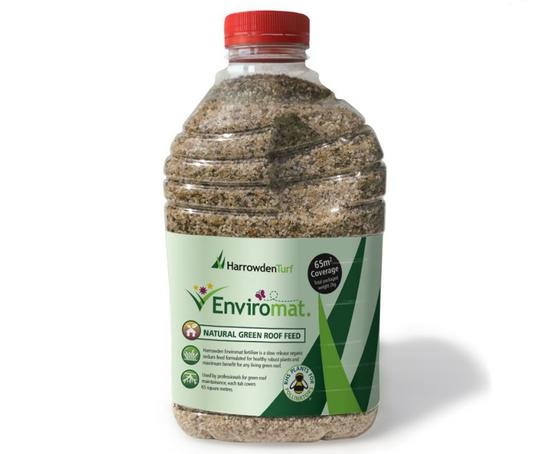 Enviromat sedum fertiliser for green roofs