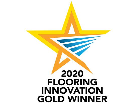 Quantum Flooring won the award for its TopClip range