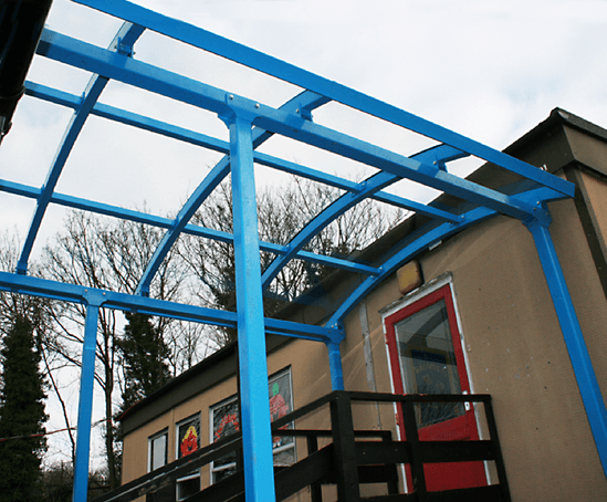 Entrance Canopies Product : Autopa entrance canopies and walkways limited