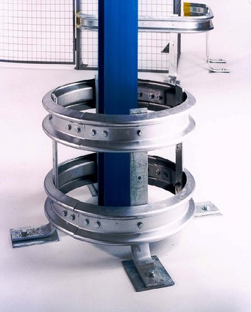 Double height warehouse column protector