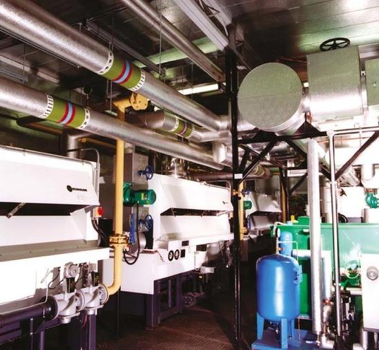 Heatpak packaged boiler house internal